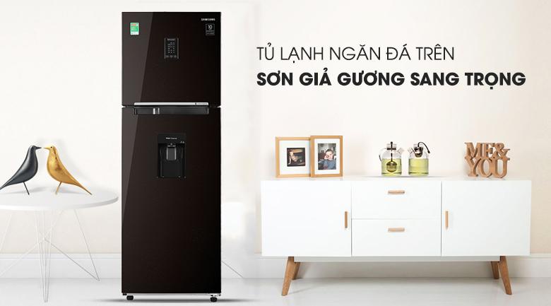 Tủ lạnh Samsung Inverter 319 lít RT32K5932BY/SV - Thiết kế