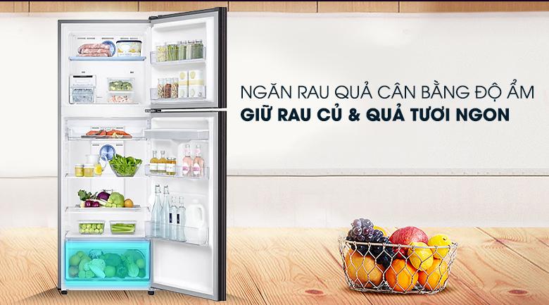 Tủ lạnh Samsung Inverter 319 lít RT32K5932BY/SV - Ngăn rau quả giữ ẩm