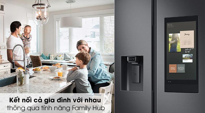 Tủ lạnh Samsung Inverter 616 lít RS64T5F01B4/SV - Family Hub