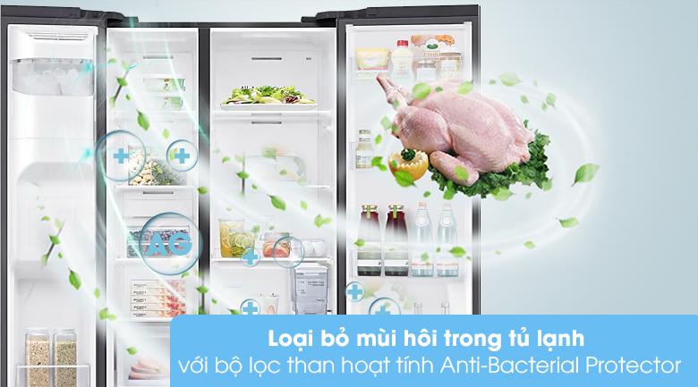 Tủ lạnh Samsung Inverter 616 lít RS64T5F01B4/SV - Bộ lọc than hoạt tính