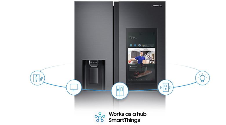 Tủ lạnh Samsung Inverter 616 lít RS64T5F01B4/SV - SmartThings