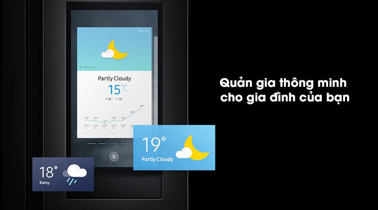 Tủ lạnh Samsung Inverter 616 lít RS64T5F01B4/SV - Quản gia thông minh