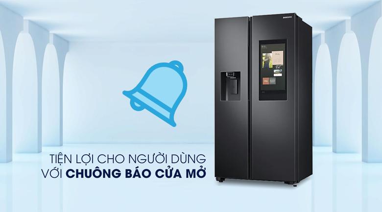 Tủ lạnh Samsung Inverter 616 lít RS64T5F01B4/SV - Chuông