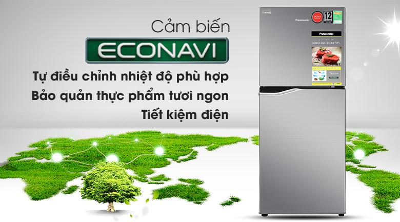Tủ lạnh Panasonic Inverter 170 lít NR-BA190PPVN - Cảm biến Econavi