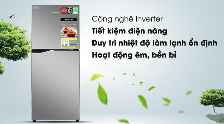 Tủ lạnh Panasonic Inverter 170 lít NR-BA190PPVN - Công nghệ Inverter