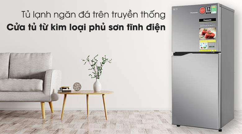 Tủ lạnh Panasonic Inverter 170 lít NR-BA190PPVN - Thiết kế