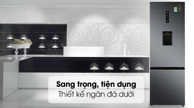Tủ lạnh Aqua Inverter 292 lít AQR-B348MA(FB) - Thiết kế