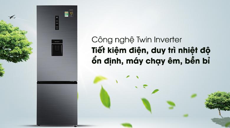 Tủ lạnh Aqua Inverter 292 lít AQR-B348MA(FB) - Inverter