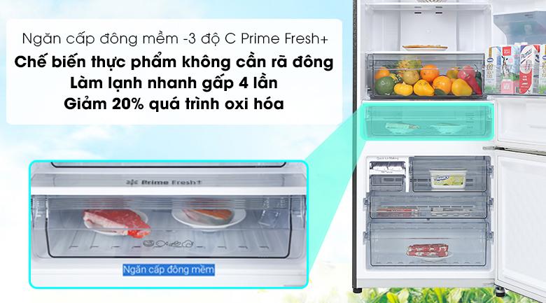 Tủ lạnh Panasonic Inverter 417 lít NR-BX471GPKV - ngăn cấp đông mềm