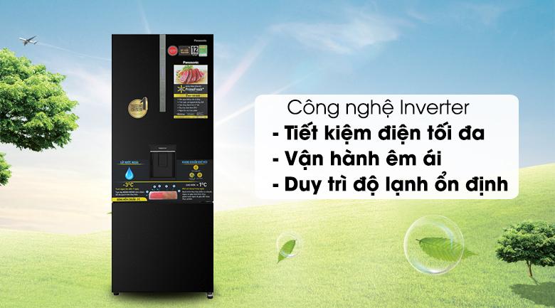 Tủ lạnh Panasonic Inverter 417 lít NR-BX471GPKV - Inverter