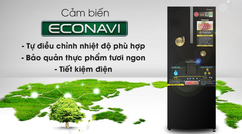 Tủ lạnh Panasonic Inverter 417 lít NR-BX471GPKV - Econavi