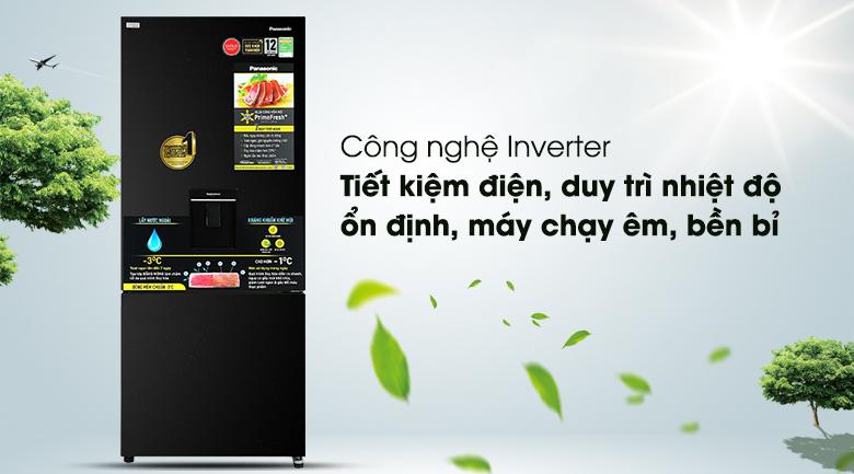 Tủ lạnh Panasonic Inverter 377 lít NR-BX421GPKV - Inverter