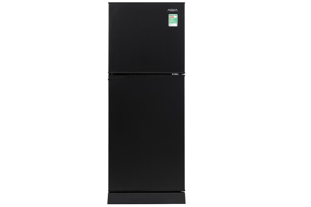 Tủ lạnh Aqua 130 lít AQR-T150FA(BS)-Thiết kế nhỏ gọn dễ di chuyển, cửa tủ bằng kim loại phủ sơn tĩnh điện bền bỉ