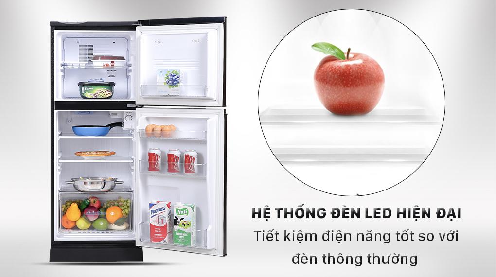 Tủ lạnh Aqua 130 lít AQR-T150FA(BS)  - Đèn Led tiết kiện điện