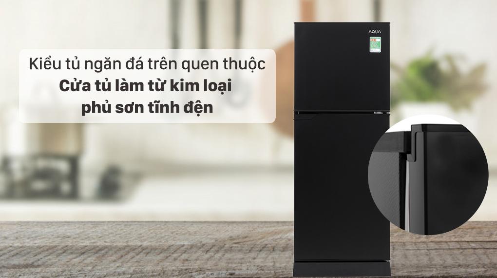 Tủ lạnh Aqua 130 lít AQR-T150FA(BS) - Thiết kế nhỏ gọn, hiện đại