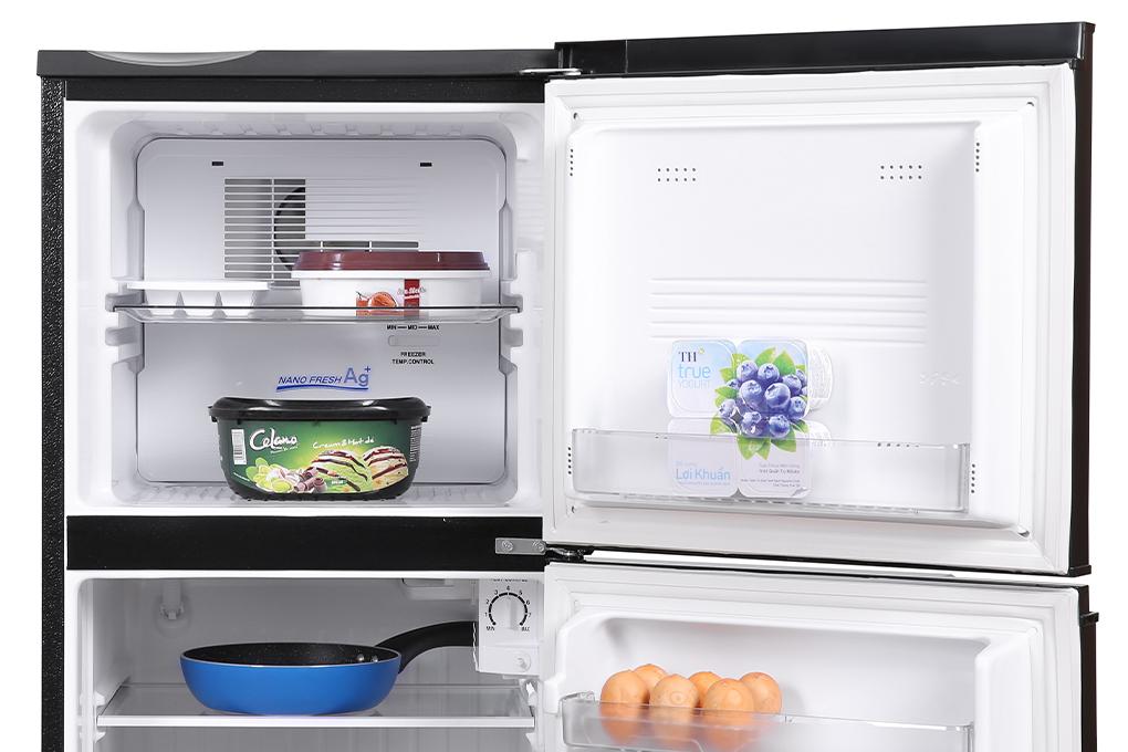 Tủ lạnh Aqua 130 lít AQR-T150FA(BS)-Hệ thống đèn LED bền và tiết kiệm điện