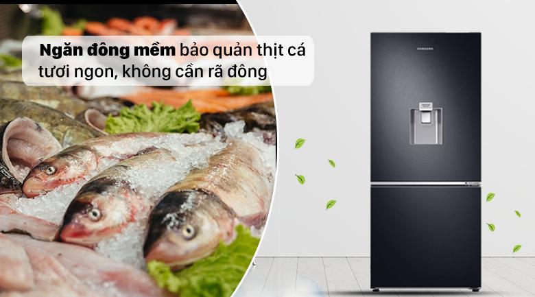 Tủ lạnh Samsung Inverter RB27N4190BU/SV với ngăn đông mềm tiện ích