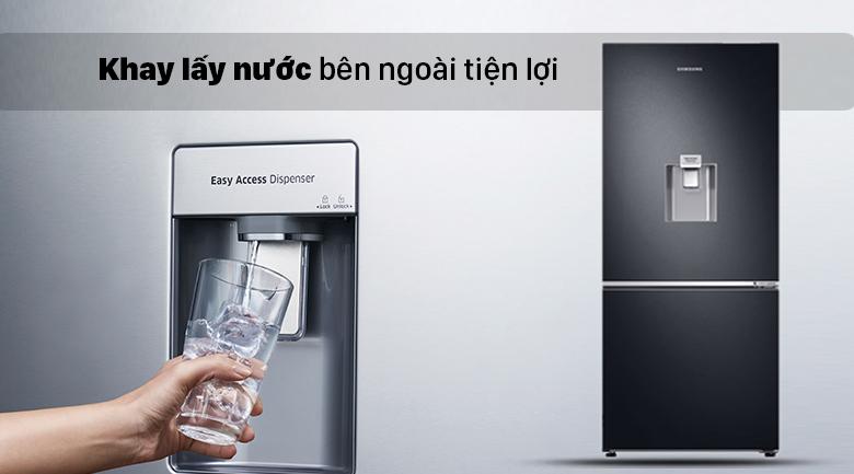Tủ lạnh Samsung Inverter RB27N4190BU/SV có khay lấy nước tiện lợi