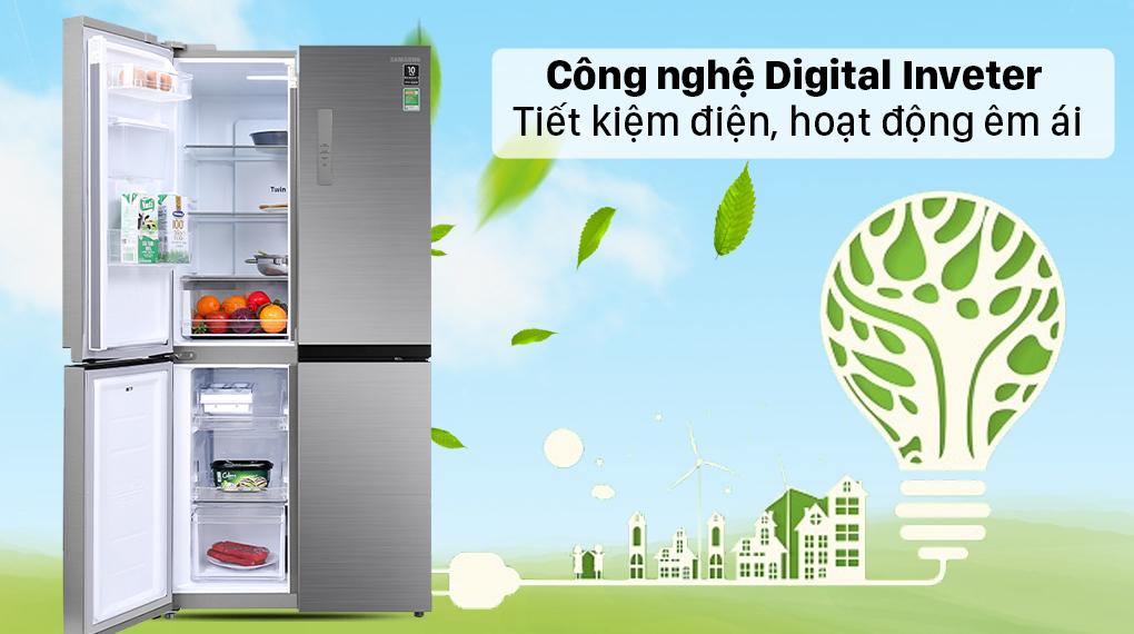 Tủ lạnh Samsung Inverter 488 lít RF48A4010M9/SV - Công nghệ Digital Inverter