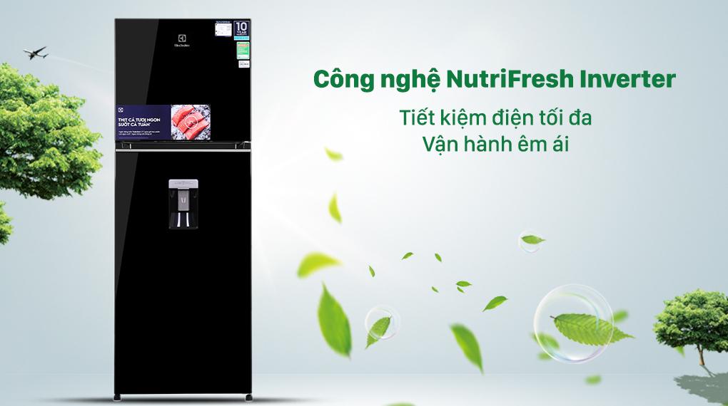 Tủ lạnh Electrolux Inverter 312 lít ETB3440K-H - Tiết kiệm điện
