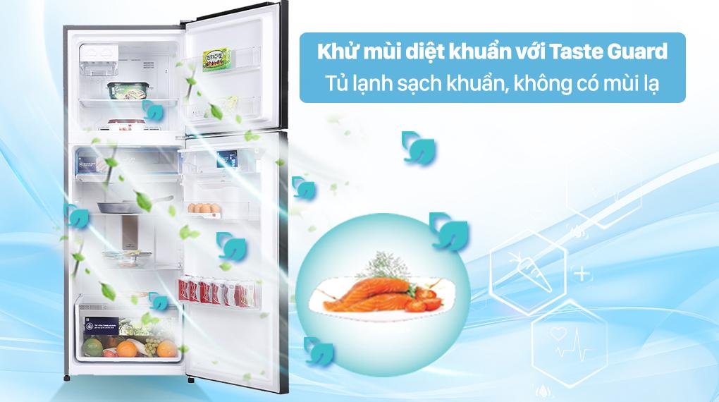 Tủ lạnh Electrolux Inverter 312 lít ETB3440K-H - Loiaj bỏ mùi hôi, vi khuẩn