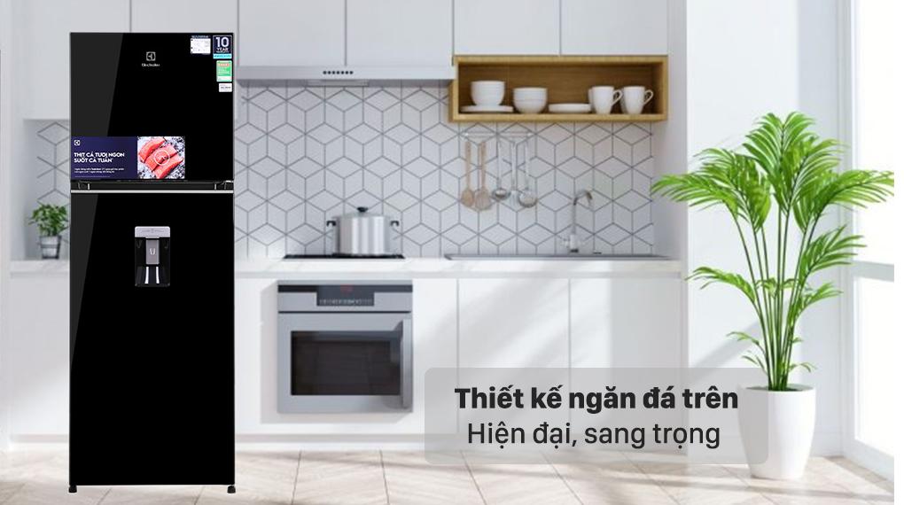 Tủ lạnh Electrolux Inverter 312 lít ETB3440K-H - Thiết kế trang nhã