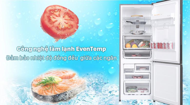 Tủ lạnh Electrolux Inverter 308 lít EBB3442K-H - Duy trì độ lạnh ổn định