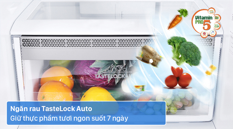 Tủ lạnh Electrolux Inverter 308 lít EBB3442K-H - Bảo quản rau củ luôn tươi ngon