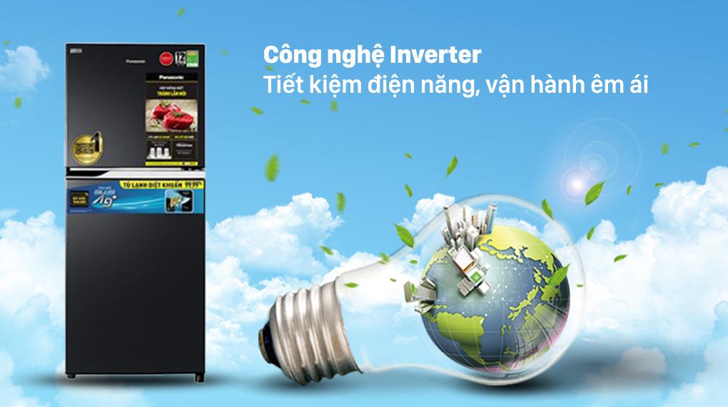 Tủ lạnh Panasonic Inverter 234 lít NR-TV261BPKV có công nghệ tiết kiệm điện năng Inverter