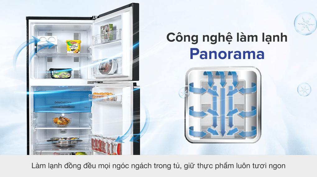 Tủ lạnh Panasonic Inverter 234 lít NR-TV261BPKV - Công nghệ làm lạnh vòng cung Panorama