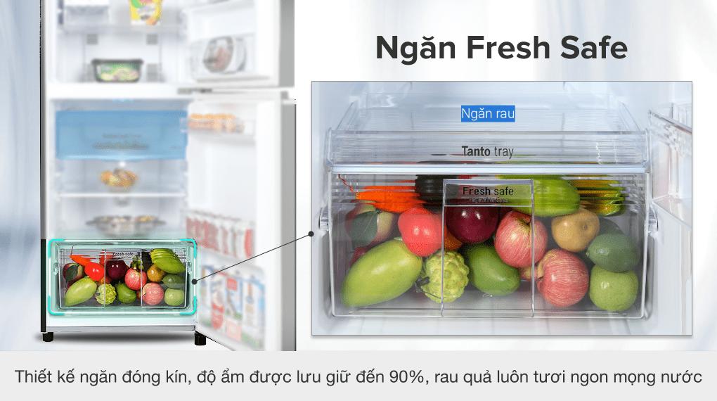 Tủ lạnh Panasonic Inverter 234 lít NR-TV261BPKV - Ngăn rau củ Fresh Safe