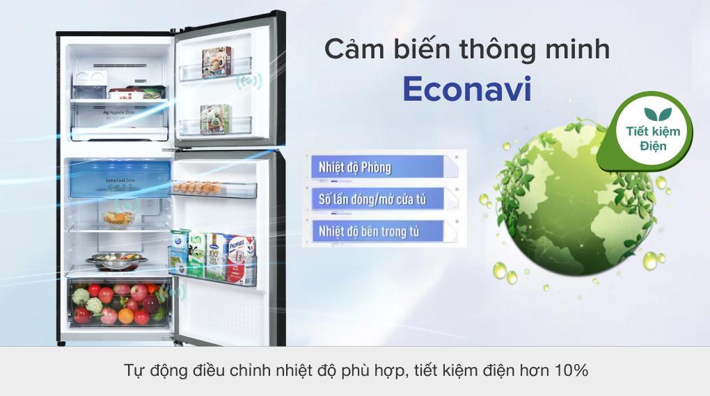 Tủ lạnh Panasonic Inverter 268 lít NR-TV301VGMV - Công nghệ Inverter và Econavi