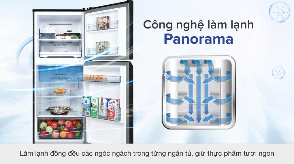 Tủ lạnh Panasonic Inverter 268 lít NR-TV301VGMV - Công nghệ làm lạnh Panorama