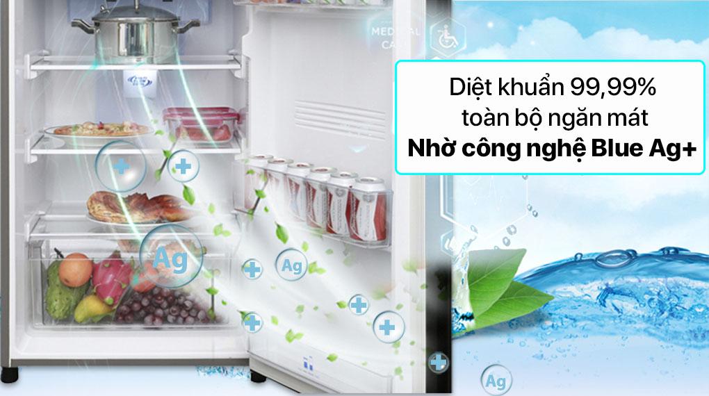 Tủ lạnh Panasonic Inverter 306 lít NR-TV341VGMV - Công nghệ Blue Ag+
