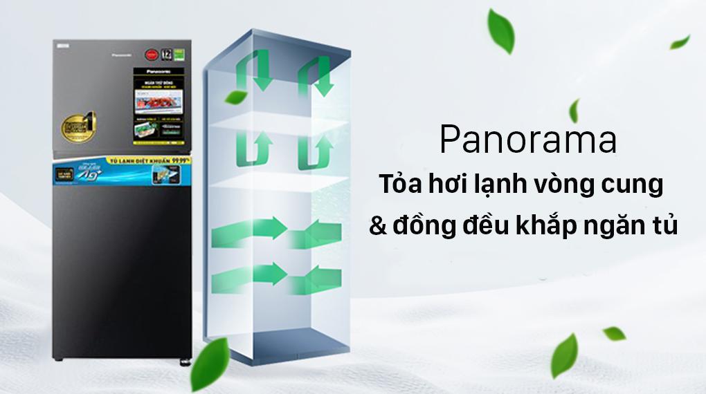 Tủ lạnh Panasonic Inverter 306 lít NR-TV341VGMV-Tủ lạnh Panasonic Inverter 306 lít NR-TV341VGMV-Làm lạnh đồ uống, thực phẩm nhanh trong ngăn Extra Cool Zone 2 độ C