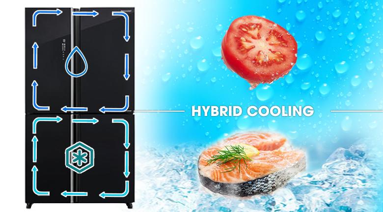 Tủ lạnh Sharp Inverter 572 lít SJ-FXP640VG-BK - Làm lạnh nhanh chóng