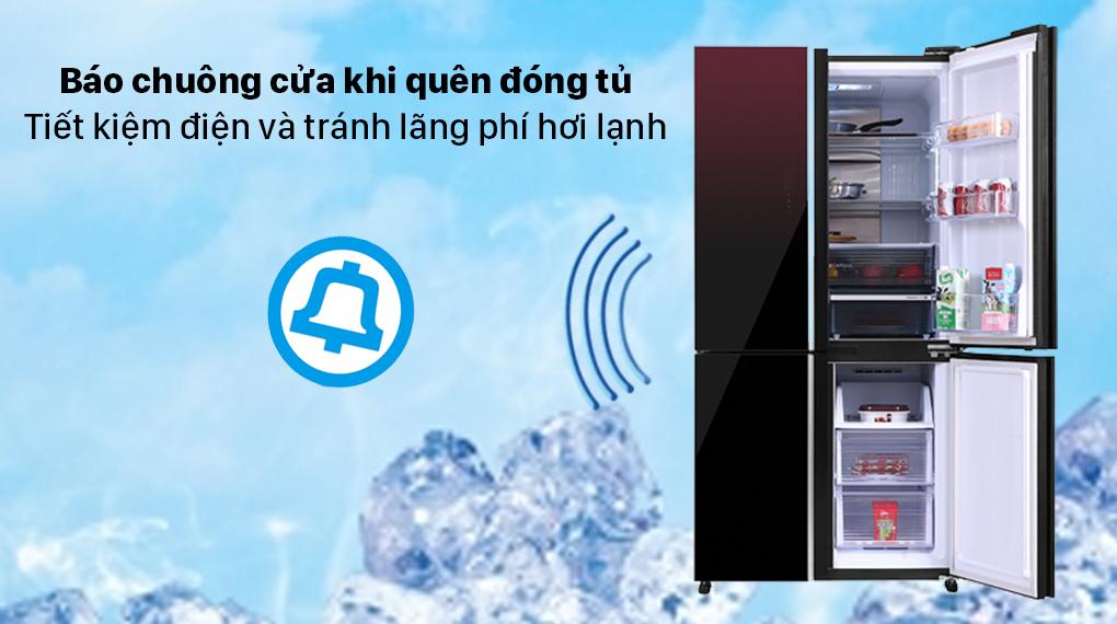 Tủ lạnh Sharp Inverter 572 lít SJ-FXP640VG-MR - Chuông báo cửa