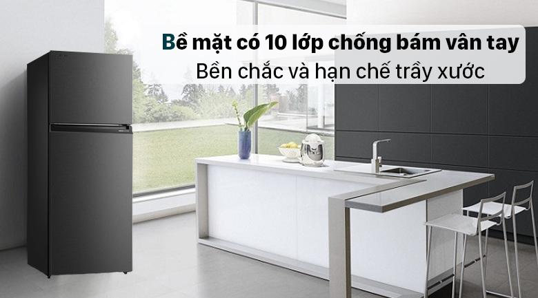 Tủ lạnh Toshiba GR-RT400WE-PMV(06)-MG - Bề mặt chống bám vân tay