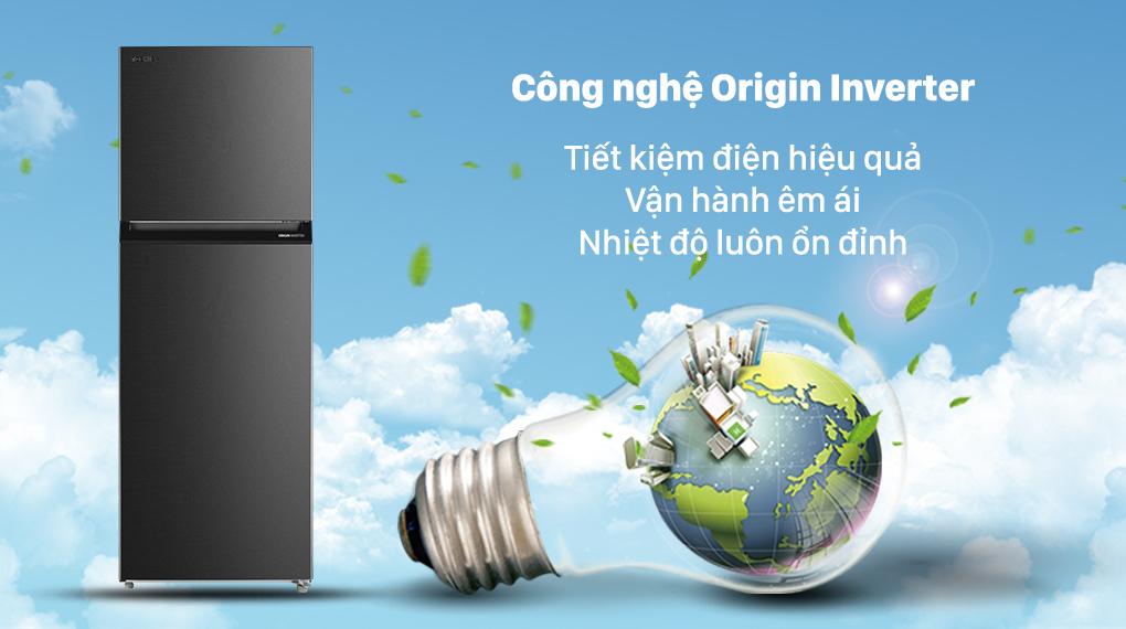 Tủ lạnh Toshiba GR-RT440WE-PMV(06)-MG với công nghệ Origin Fresh tiết kiệm điện