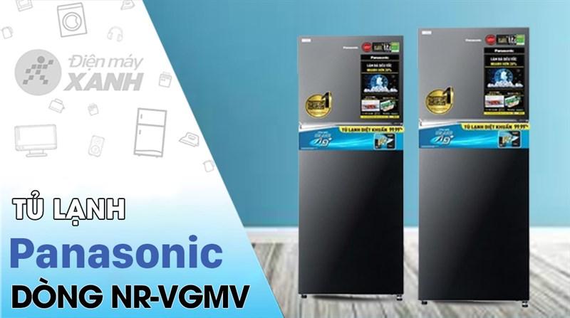 Tủ lạnh Panasonic Inverter 366 lít NR-TL381VGMV