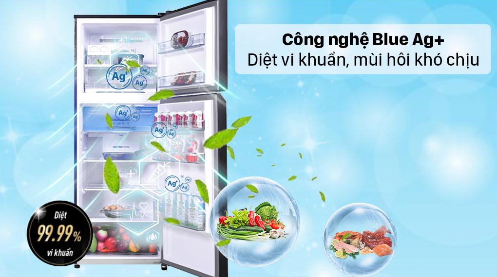 Tủ lạnh Panasonic Inverter 366 lít NR-TL381VGMV - Công nghệ Blue Ag+