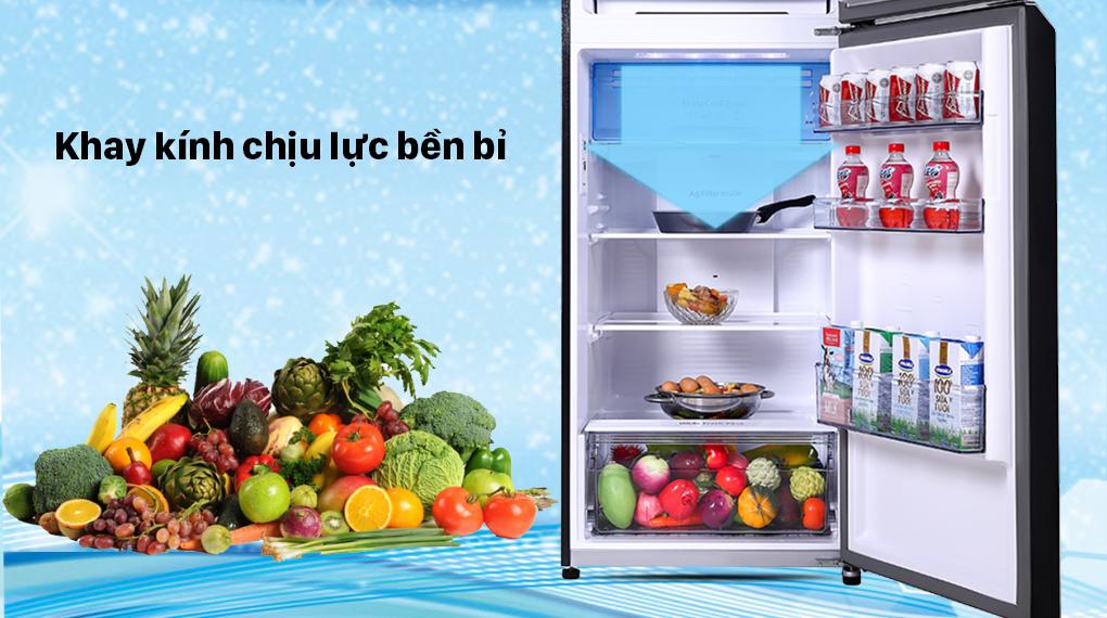 Tủ lạnh Panasonic Inverter 366 lít NR-TL381VGMV - Kính chịu lực