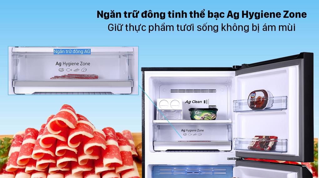 Tủ lạnh Panasonic Inverter 366 lít NR-TL381VGMV - Ngăn trữ đông Ag Hygiene Zone
