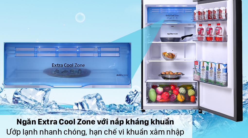 Tủ lạnh Panasonic Inverter 366 lít NR-TL381VGMV - Ngăn Extra Cool Zone