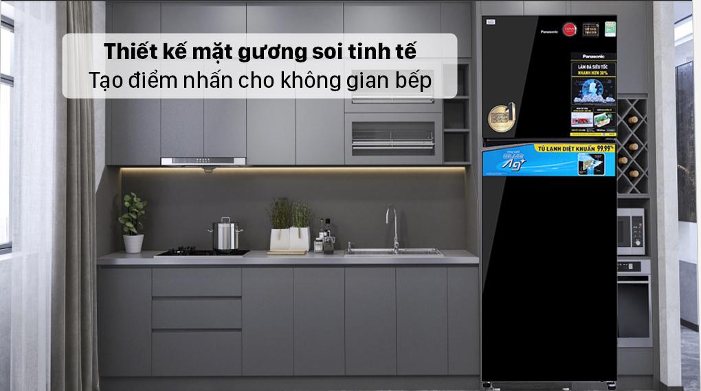 Tủ lạnh Panasonic Inverter 366 lít NR-TL381VGMV - Thiết kế hiện đại
