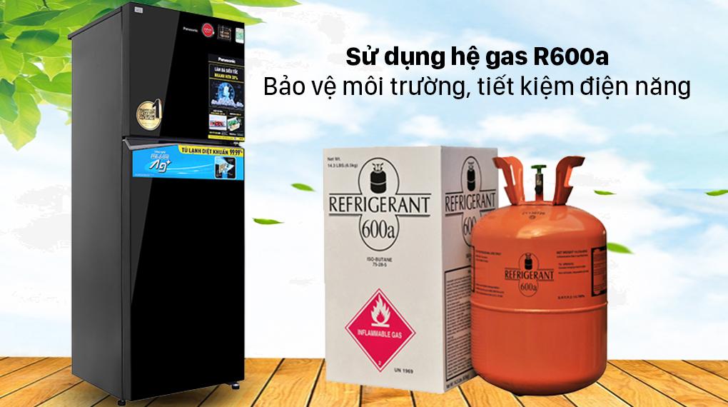 Tủ lạnh Panasonic Inverter 366 lít NR-TL381VGMV - Gas R600