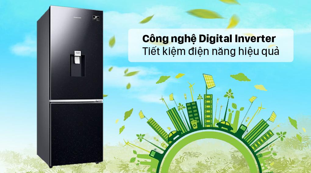 Tủ lạnh Samsung Inverter 307 lít RB30N4190BU/SV - Tiết kiệm điện