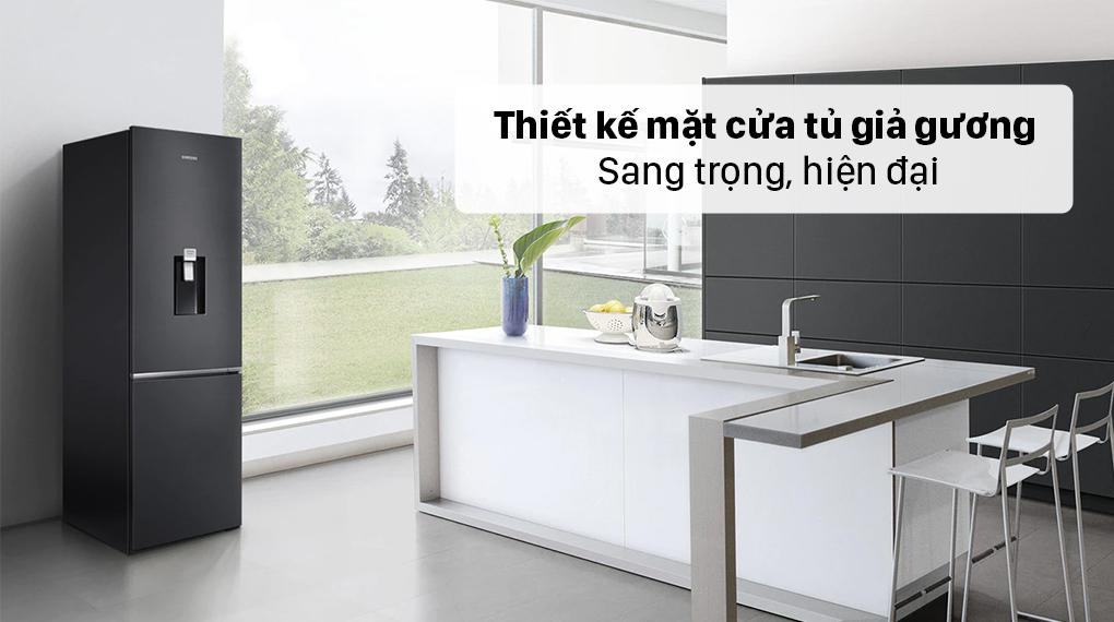 Tủ lạnh Samsung Inverter 307 lít RB30N4190BU/SV - Thiết kế hiện đại