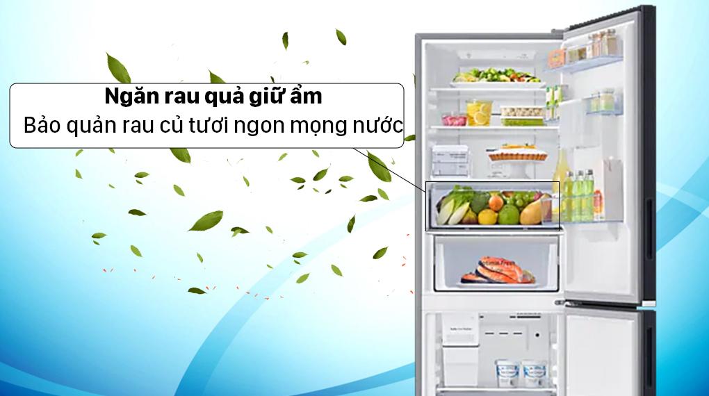 Tủ lạnh Samsung Inverter 307 lít RB30N4190BU/SV - Bảo quản rau củ mọng nước