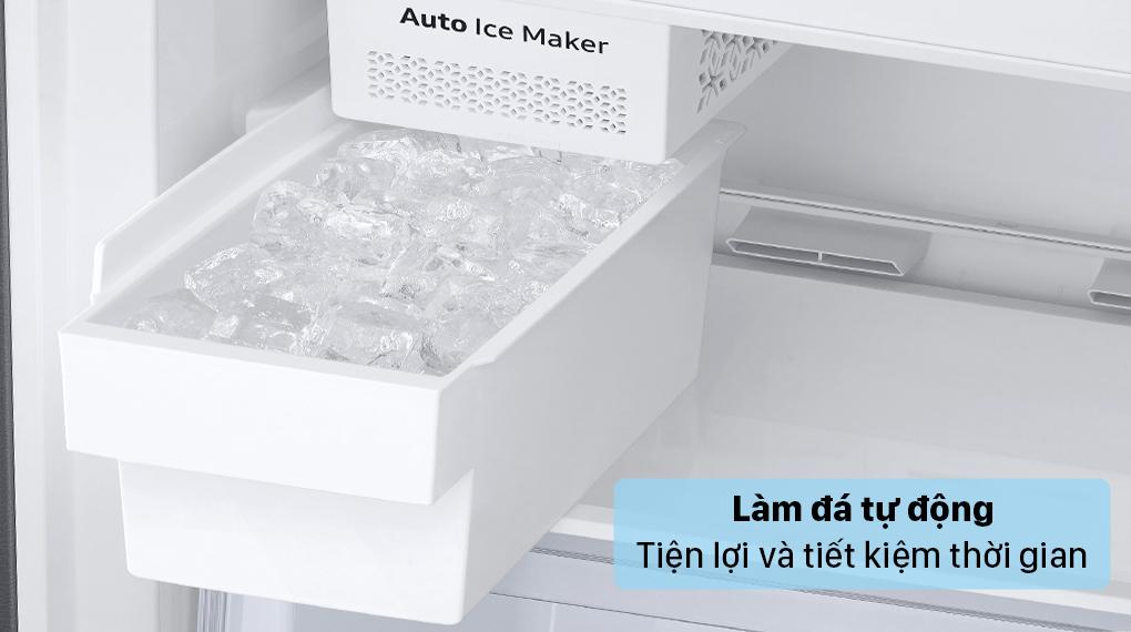 Tủ lạnh Samsung Inverter 307 lít RB30N4190BU/SV - Làm đá tự động
